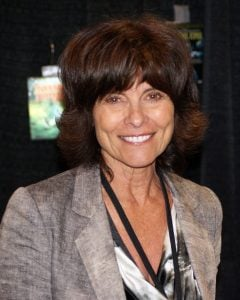 Adrienne Barbeau does voice-over work from home, which also has her thinking about other work