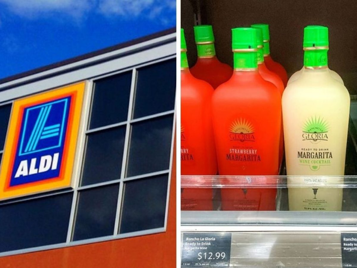 Aldi Is Selling Two Flavors Of Margarita Wine Perfect For Quarantine