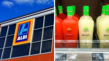 Aldi is selling a new margarita wine with two flavors
