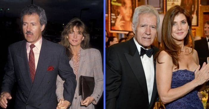Alex and Jean Trebek have a 23 year age difference