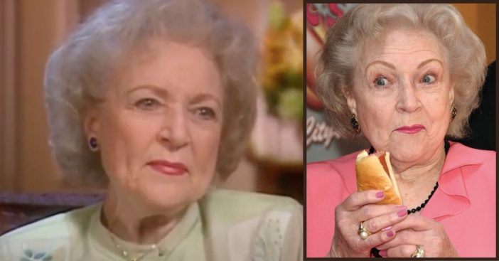 At 98 Years Old, Betty White Still Indulges In Hotdogs And Vodka Martinis In Quarantine
