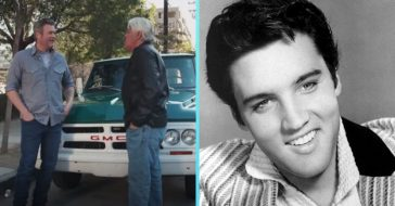 Blake Shelton gets to drive Elvis Presleys truck