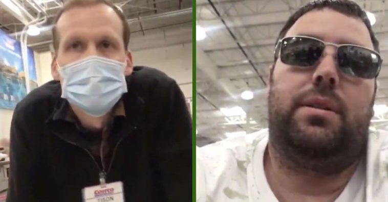 Costco Shopper Gets Kicked From Store After Refusing To Wear Mask