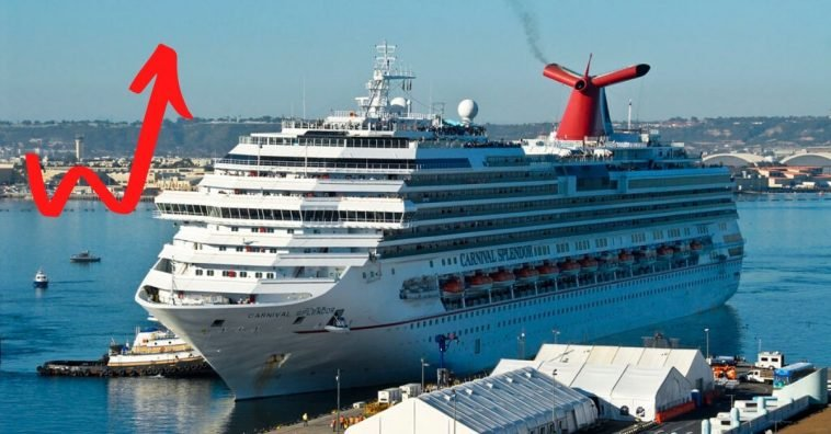 Cruise bookings went up by 600 percent after talks of sailing again
