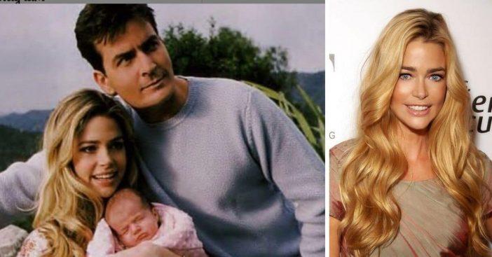 Denise Richards shares how she explains ex Charlie Sheens behavior to their kids