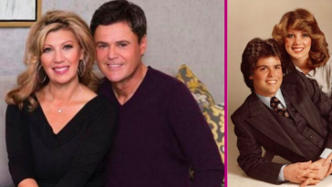 Donny Osmond Shares Sweet Message For Wife, Debbie, On 42nd Wedding Anniversary