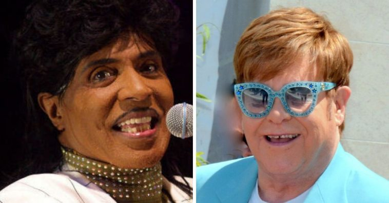 Elton John talks about being inspired by Little Richard