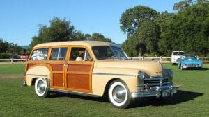 Eventually, manufacturers offered a simulated woodgrain look to meet demand