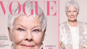 Judi Dench is on the cover of British Vogue at 85