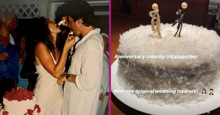 Kaia Gerber Bakes Parents Cindy Crawford & Rande Gerber A Cake For 22 Years Of Marriage