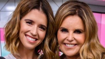 Katherine Schwarzenegger and mom Maria Shriver
