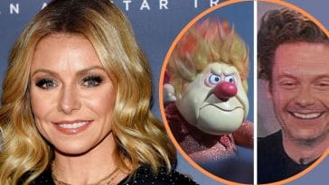 Kelly Ripa Compares Ryan Seacrest's Quarantine Haircut To The Heat Miser From 'The Year Without A Santa Claus'