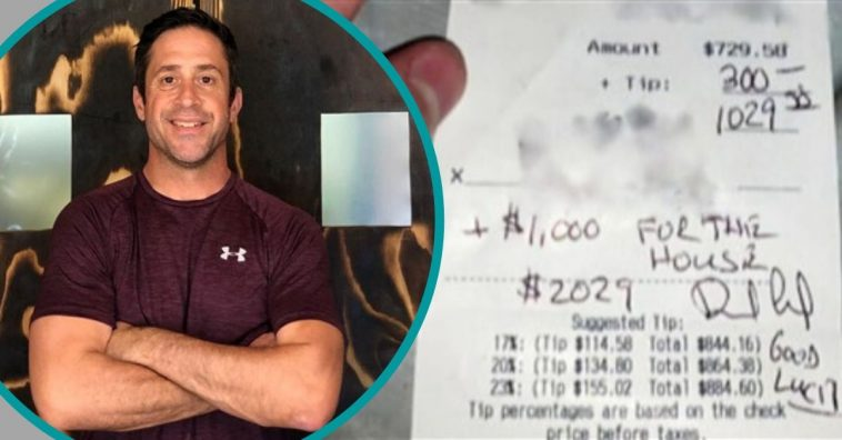Man Leaves $1,300 Tip For Struggling Restaurant After It Reopens During Pandemic