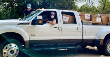 Matthew McConaughey Delivered Masks To Texas Hospitals