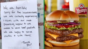 Meat Shortages In U.S. Prompt Removal Of Burgers From Restaurant Menus