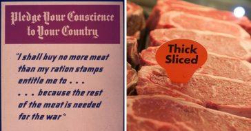 Meat shortage due to coronavirus seems like WWII ration
