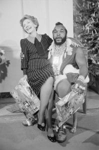 No friendship was quite like the one between Nancy Reagan and Mr. T