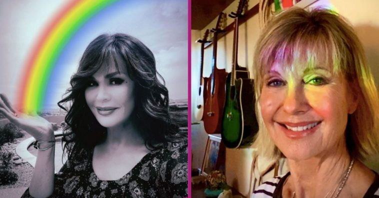 Olivia Newton-John Challenges Marie Osmond & More To 'Rainbow Challenge' For Good Cause
