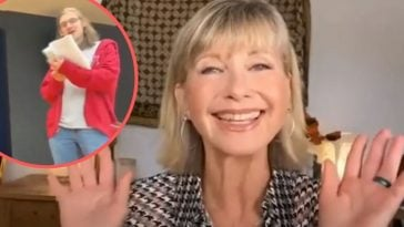 Olivia Newton John surprises seniors at their virtual commencement