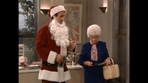 One constant remained: Sophia Petrillo always had her wicker purse