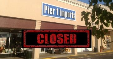 Pier 1 is closing for good