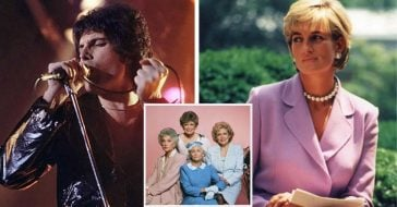 Princess Diana And Freddie Mercury Would Improvise 'Golden Girls' Scenes With Dirty Dialogue (1)