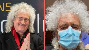 Queen guitarist Brian May reveals he suffered from a heart attack this month