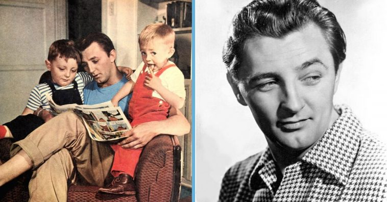 Robert Mitchum was a family man as well as celebrated actor