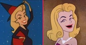 Screen Gems, Inc. leaned into the fact that it worked on both Bewitched and The Flintstones