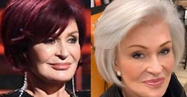 Sharon Osbourne changed her iconic red hair to platinum