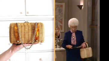 Sophia's wicker purse has a fascinating history stretching before, through, and after 'The Golden Girls'
