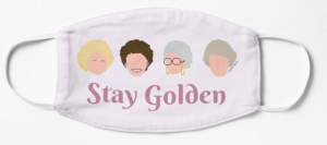 """These Golden Girls face masks will help you """"stay golden"""" through quarantine"""
