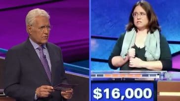 Trebek himself stated this has never happened before