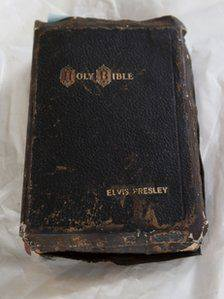 elvis presley bible