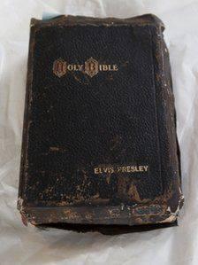 elvis presley bible