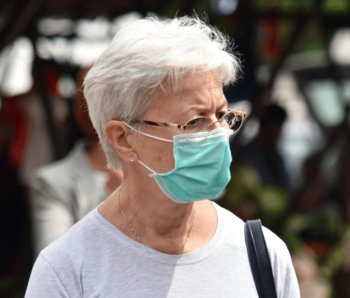costco shopper refusing to wear face mask