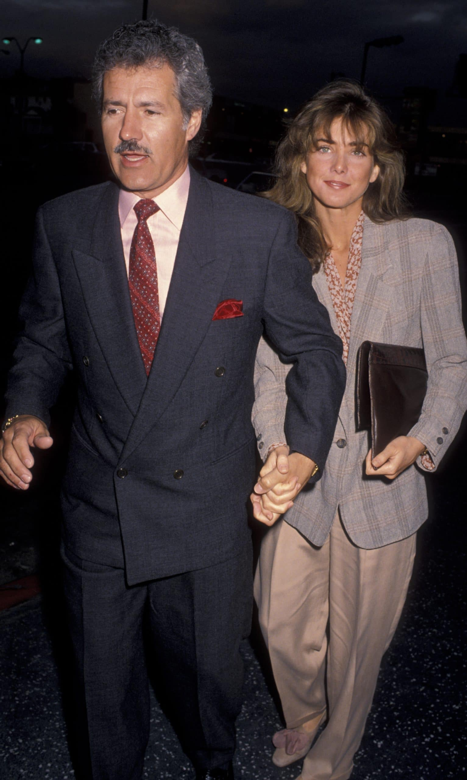 alex and jean trebek in 1990