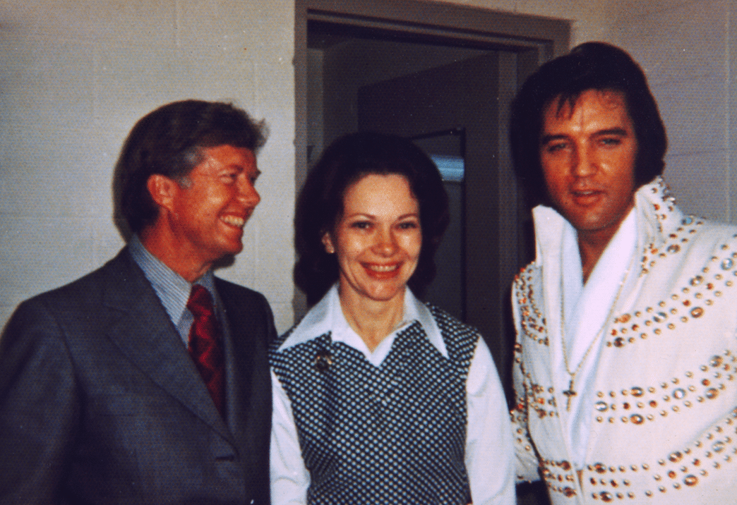 elvis presley allegedly called jimmy carter totally stoned