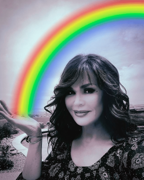 Marie Osmond participating in ONJ's Rainbow Challenge