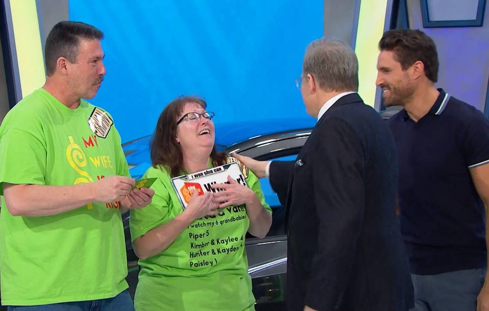 melinda mcbride wins the price is right