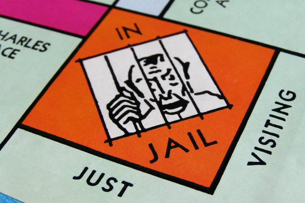 monopoly in jail space