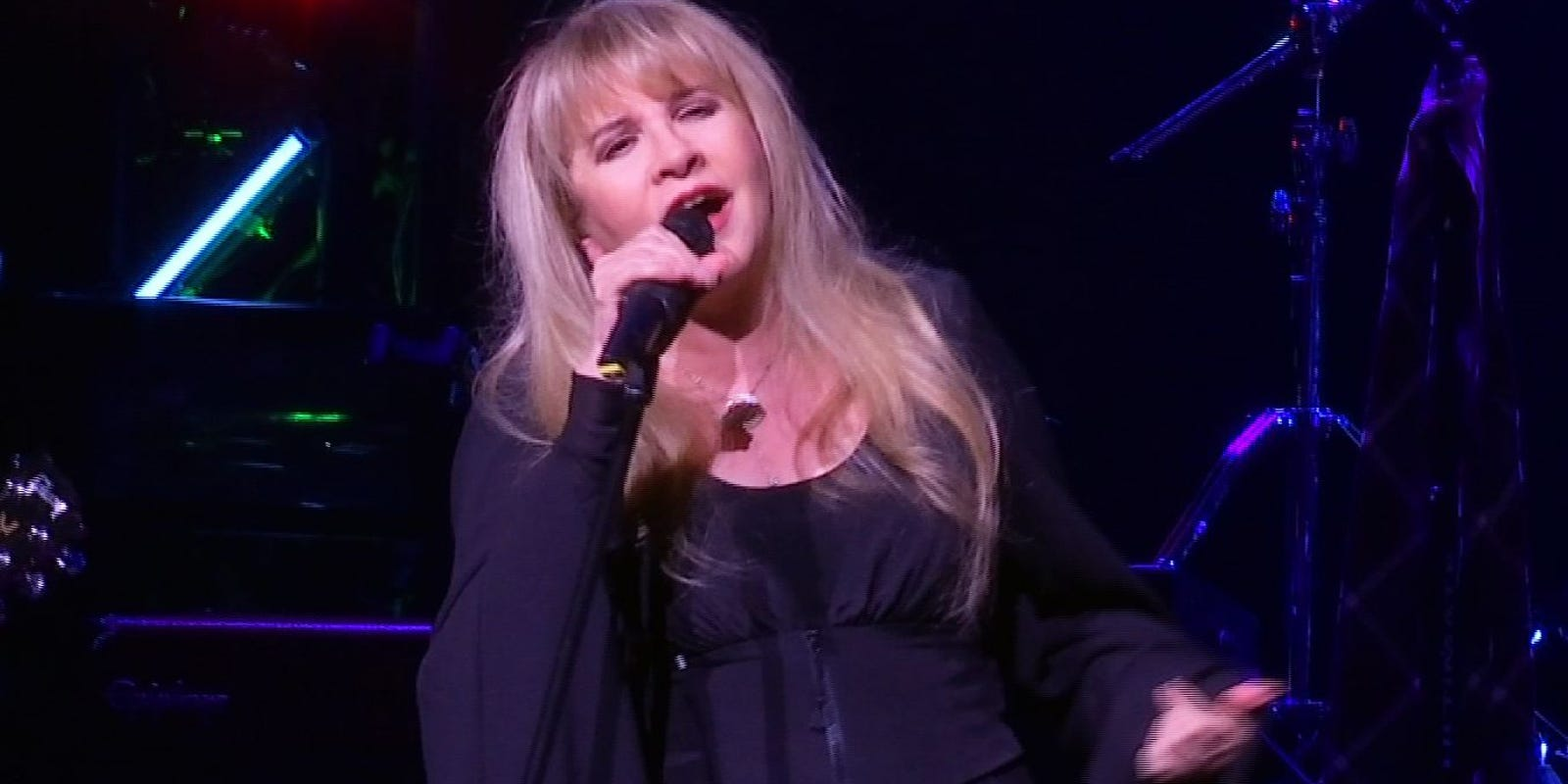 """stevie nicks working on """"Rhiannon"""" book and movie"""