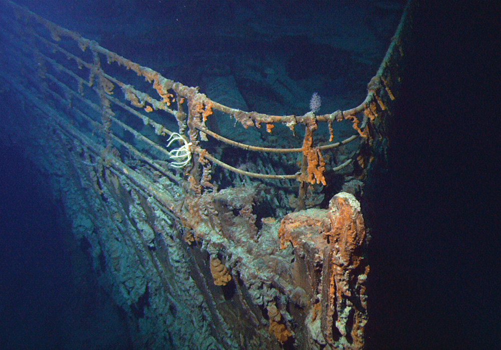 Titanic Salvage Firm Approved For Plan To Cut Into Leftover Wreck