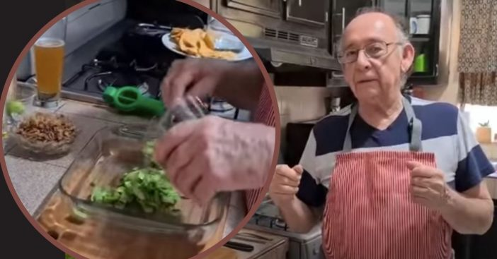 79-Year-Old Starts YouTube Cooking Channel After Losing His Job Due To Coronavirus