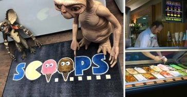 A new ice cream shop is banking on 80s nostalgia