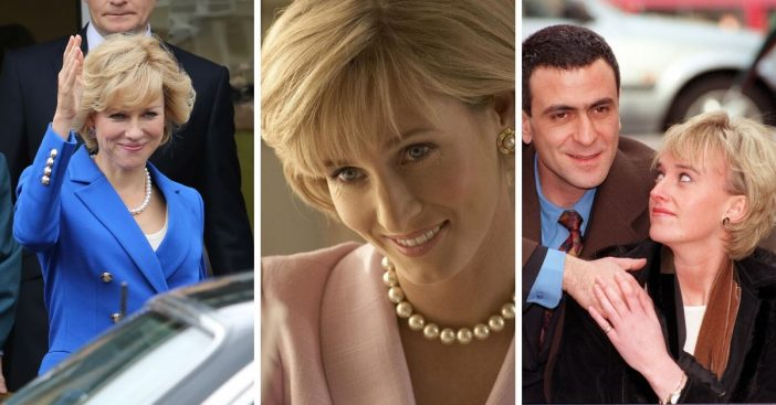 Actresses who played Princess Diana in films over the years