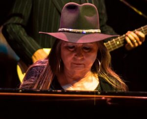 Bobbie Nelson developed her talent in the keyboard at a young age