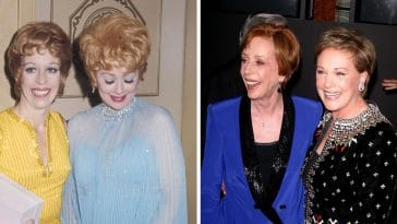 Carol Burnett talks friendships with Lucille Ball and Julie Andrews