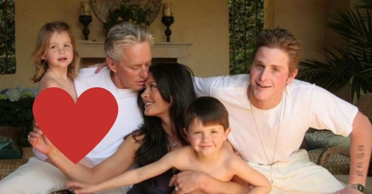 Catherine Zeta Jones shares throwback photo for Fathers Day