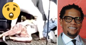 Comedian DL Hughley passes out on stage